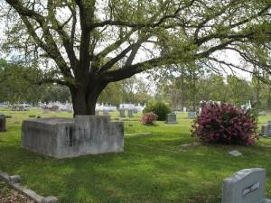 Cemetery in Louisiana, USA