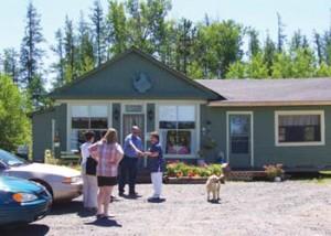 Darlene's Tea House on Barnettville Road near Blackville